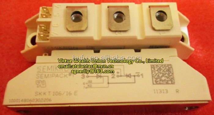 Hot Selling Electronic Components New SKKT106-16E IGBT Module
