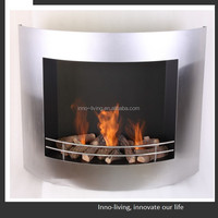 metal ethanol fireplace tool heater