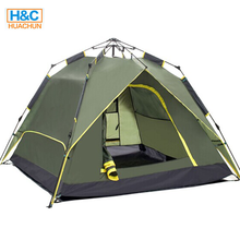 2017 New Style 2 Door 3-4 Person Trekking Tent