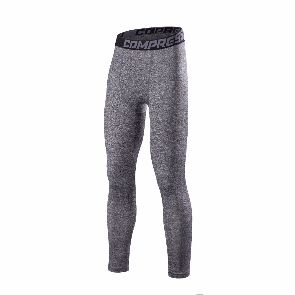 Wholesale Custom Mens Compression Yoga Pants Running Leggings Tight