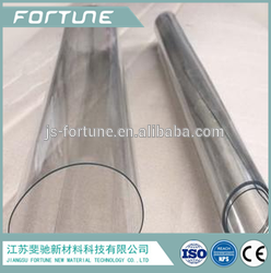 2014 super clear transparent pvc flexible plastic sheet soft pvc film