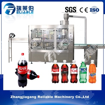 Autoamtic Carbonated Soft Drink Filling Machine for PET Bottles