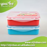 Eco Friendly Microwavable Meal Prep Food Container Lunch Container