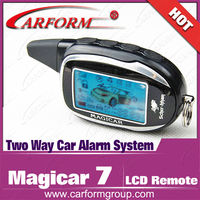 LCD remoter Controller Magicar 7 Scher-Khan Two Way Car Alarm System