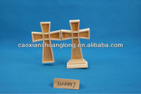 2013 New Design Wooden Cross With Stand for Sale