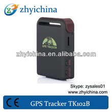 Mini Real-Time GSM GPRS GPS Tracker KID/Car/Dog Tracking Device TK102 sim card tracker mobile
