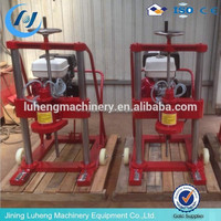 Asphalt and Concrete pavement drilling core machine