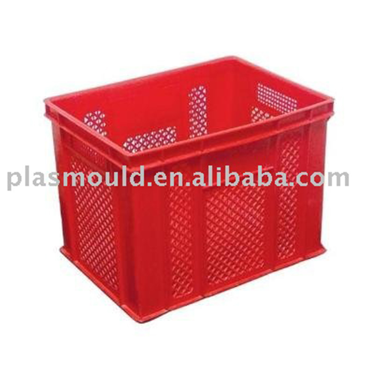 high precision plastic mold plastic injection turnover box mould/mold