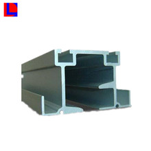 6000 series square Industrial extruded aluminum profiles with customized surface treatments