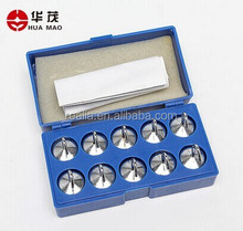 HM-PM034 Physical Hooked Weight Set 50g x10pcs steel Set of Weights laboratory