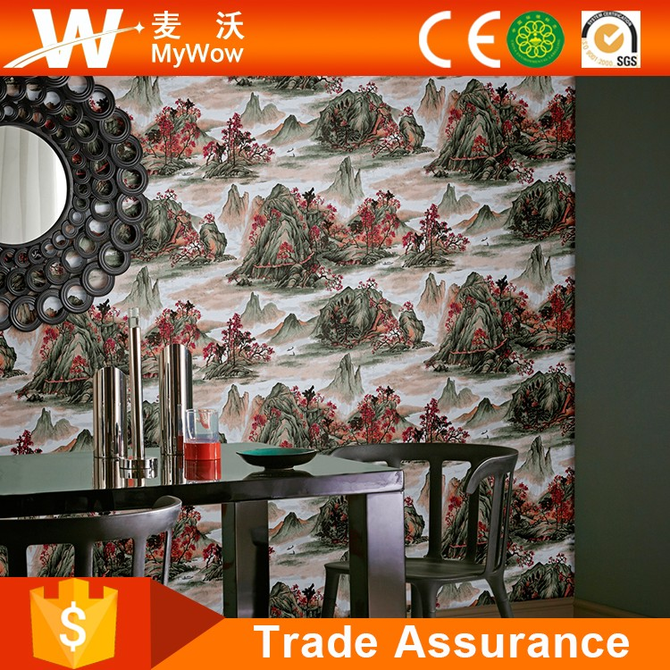 High Quality Deep Embossed PVC Wallpaper Production Line