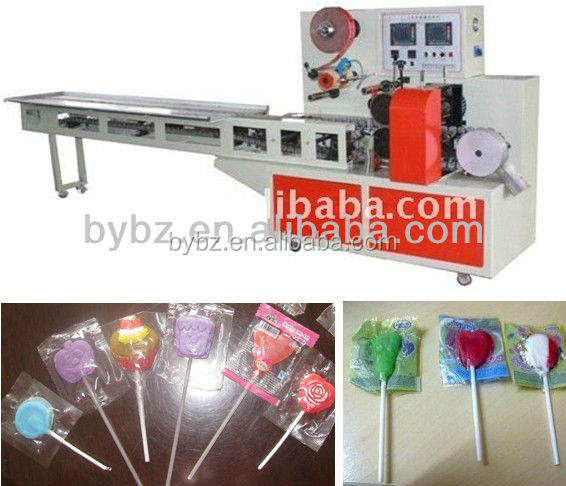 New Automatic Flat Lollipop Wrapping Machine 0086-13916983251