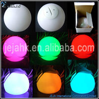 Floating water led ball multicolor led ball battery operated outdoor