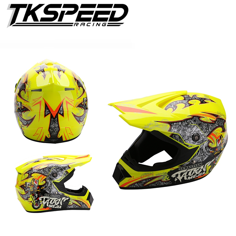 2016 new top quality capacity motorcycle off road full face helmet