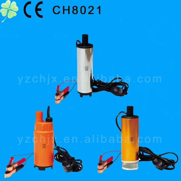 Hot selling 12V DC Submersible Water Oil Diesel Fuel Transfer Pump