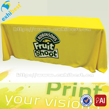 Hotsale full color sublimation banqueting table clothes
