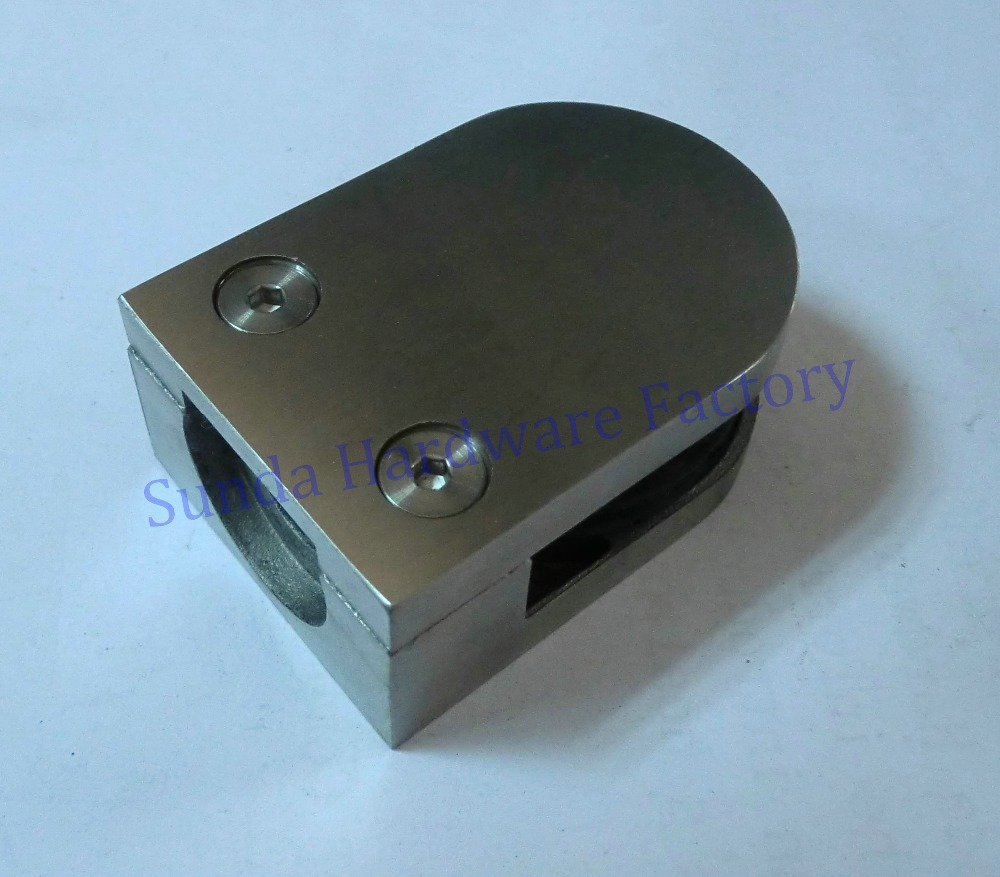 316 Stainless Steel Glass Clamp for glass pool with various styles