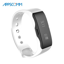 2017 APPSCOMM Smart Watch Fitness Tracker Bluetooth Wristband Waterproof Wristwatch for Android and IOS