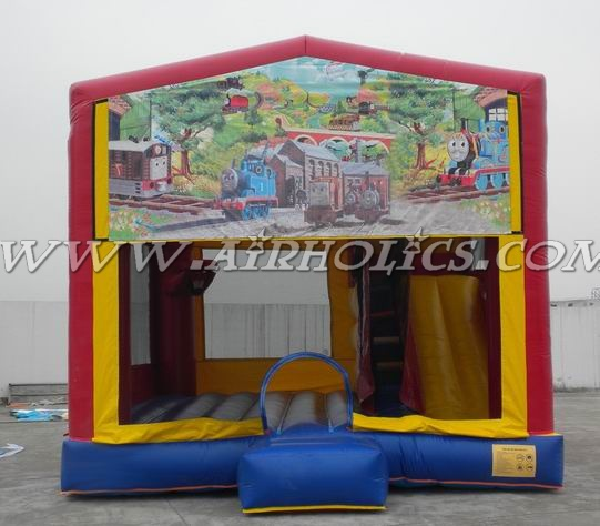 inflatable bouncies, modular art panel inflatable combo A2078