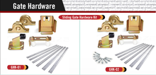 Sliding Gate Tracks Wheels Hardware Kit