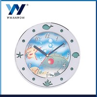 Taiwan new product stainless steel ocean style wall clock