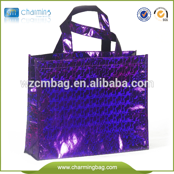 Luxury Metallized pp non woven bags
