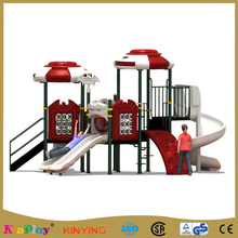 KINPLAY brand 2017 old school outdoor kids amusement park equipment, park outdoor playground slides