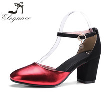Alibaba Wholesale Cheap Women Shoes Antislip Rubber Red Bottom Ankle Strap Sexy Ladies Party Wear Sandals
