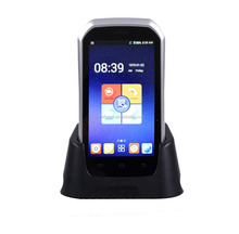Android barcode swipe reader with laser scanner touch screen Bluetooth wireless