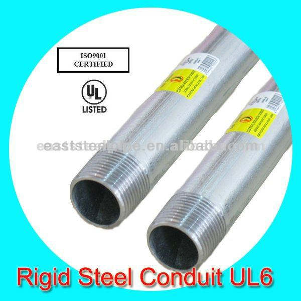electrical rsc steel conduit ul6