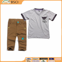 Children wearing 2017 school unifrom set summer kids clothes 8 to 8 years boys clothing