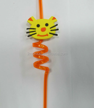 Hot selling Novelty plastic drinking straw