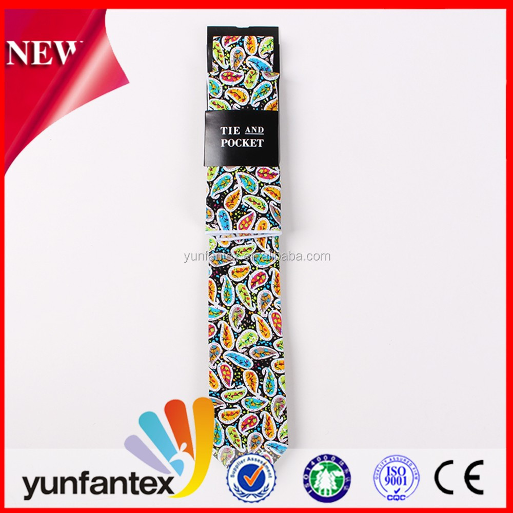 fashion style 100 cotton custom printable mens tie