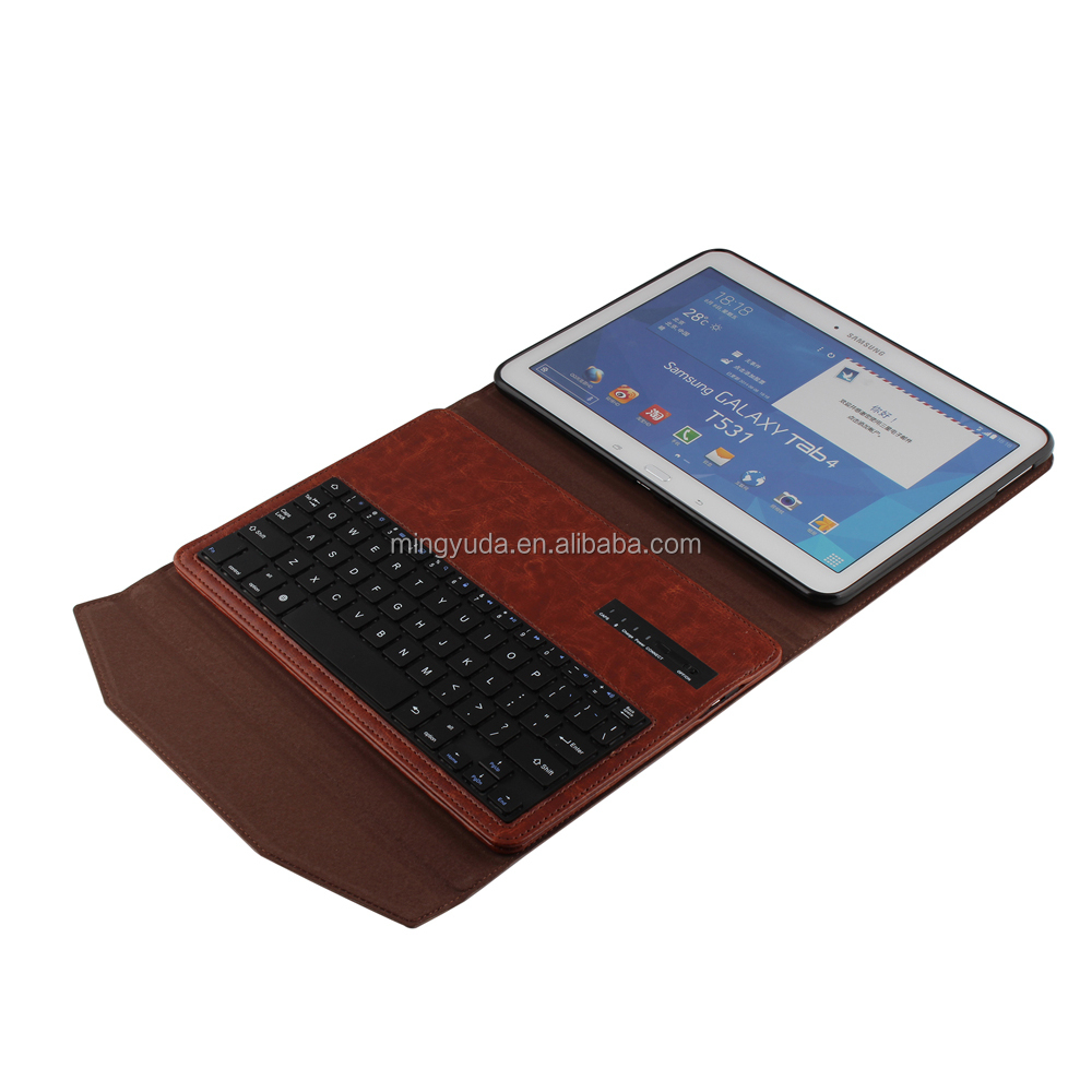 Removable 3.0 Version Bluetooth Keyboard flip cover case for tablet
