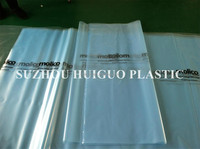 poly material plastic bag for packing bed sheet