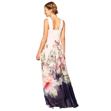 Western style evening spaghetti strape backless sexy long dress for women