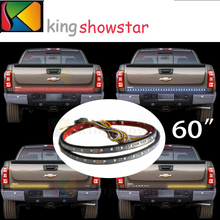 "60"" Sealed Truck LED 5-Function Rear Tailgate Brake Light Strip Bar SUV Jeep"
