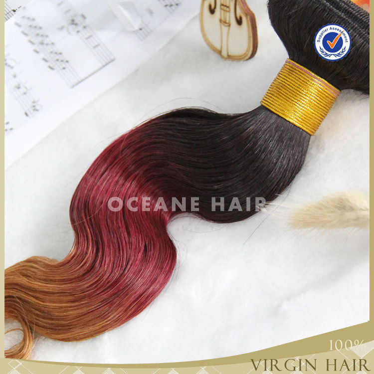 asian products wholesale aliexpress hair virgin peruvian body wave hair three 3 toned hair body wave