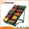 Hot sell Metallic fruits and vegetable display shelf