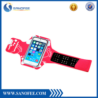 Factory Wholesale High Quality Lycra Sports Running Jogging Gym Armband Case for iPhone 6