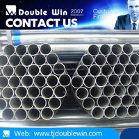 alibaba express trade company GI steel pipe used building materials