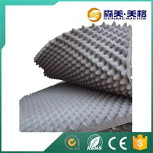 China manufacturer egg crate packing studio foam rubber sheets