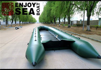 2-7 Person Commercial Inflatable Yacht Fishing Boat for sale