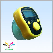 HOT SALE new developed high quality promotional gift yellow LED finger tally counter