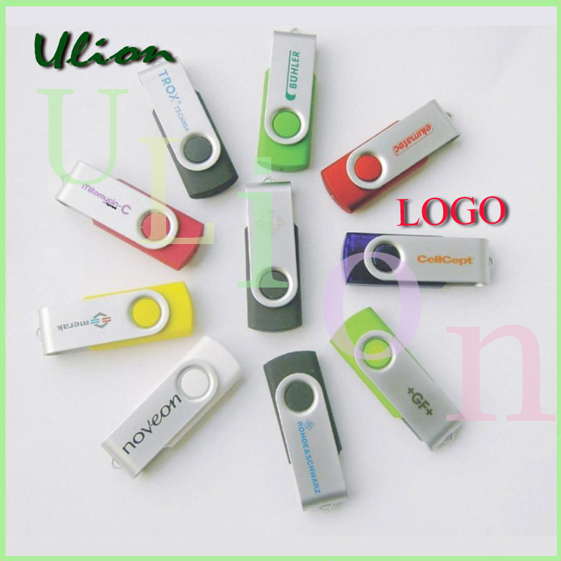 Bulk swivel pendrive 8GB 16GB 32GB 64GB usb flash drive,pen drive with logo