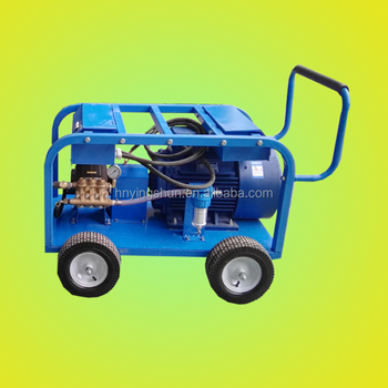 500bar electric motor type industrial high pressure washer