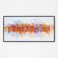 Framed colorful modern original designs abstract wall art painting