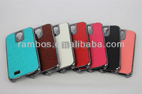 Chroming Case Aluminum Metal Hard Back Cover Chrome Anti-dust Case Cover for Samsung Galaxy S4 i9500
