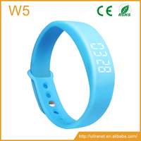 2016 Smart Bracelet 3D Pedometer Calorie Counter Sleep Monitoring Display Time Date ,Smart Bracelet W5