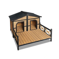 Indoor outdoor Wooden Dog/Pet/Cat House